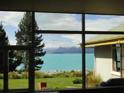 Aussicht vom Dining Room YHA Lake Tekapo
