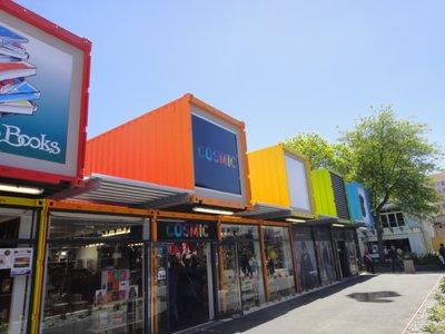 Das vorübergehende City Center von Christchurch