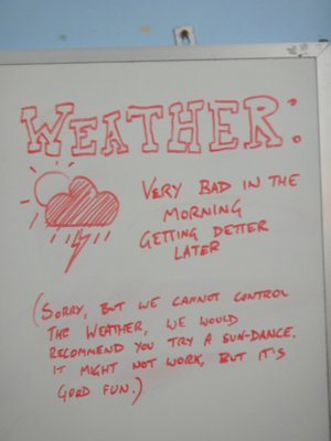 So bleibt die gute Laune auch bei schlechtem Wetter <img class='img' src='http://www.travellerspoint.com/Emoticons/icon_smile.gif' width='15' height='15' alt=':)' title='' />