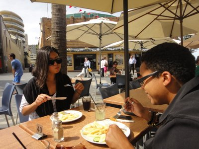 Lunch in Manly