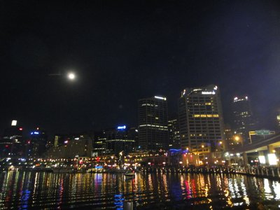 Darling Harbour by night...