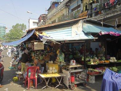 Der Markt von Ho Chi Minh