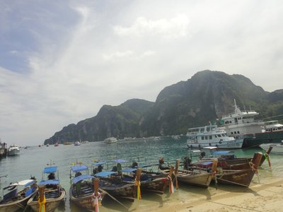 Pier of Koh Phi Phi