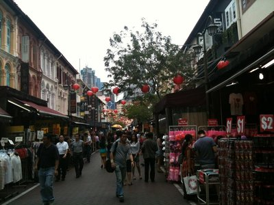 Chinatown Singapur