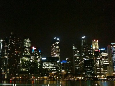 Skyline von Singapur