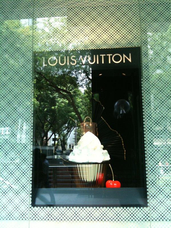 Auch Louis Vuitton ist auf den Cupcake gekommen :)