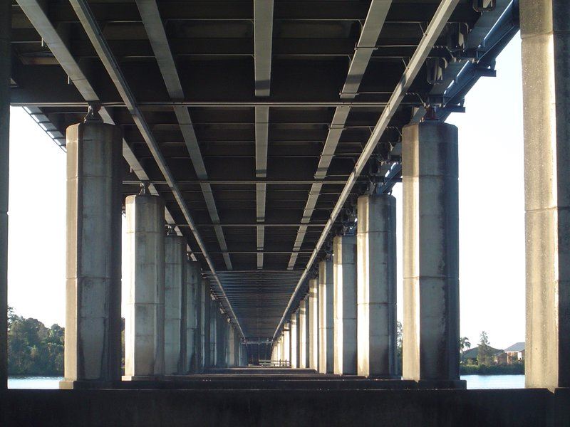 Bridge over the Clarence River, Yamba