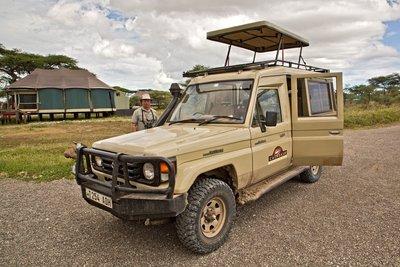 Calabash Vehicle at Lake Masek Tented Camp