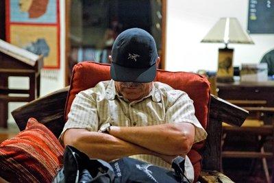 Chris feeling tired