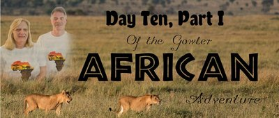 Day Tenof the Gowler African Adventure With Photo