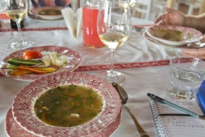 Et Cetera Winery - Lunch - Chicken and Vegetable Soup