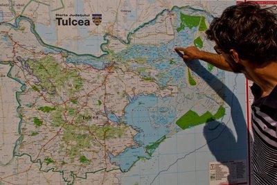 Map of Danube Delta 1