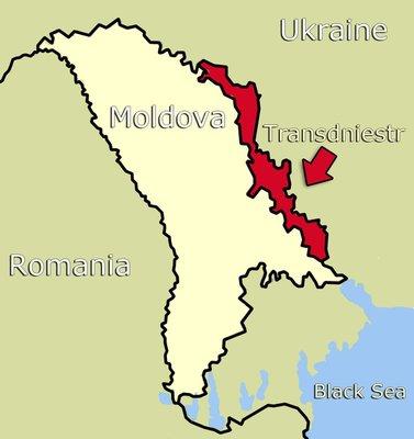 Map of Transdniestr