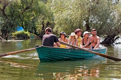 Morning Boat Trip on Danube Delta 124