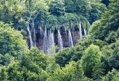 View from our room, Plitvice Hotel 1