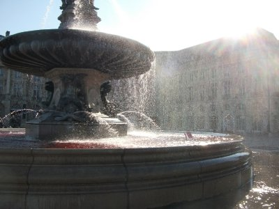 Fountain in Bordeaux