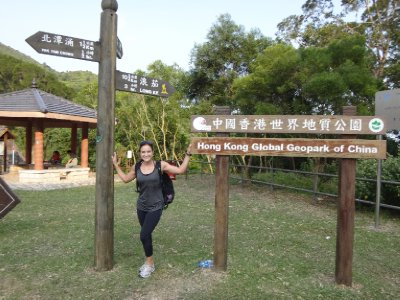 I love hiking in Hong Kong