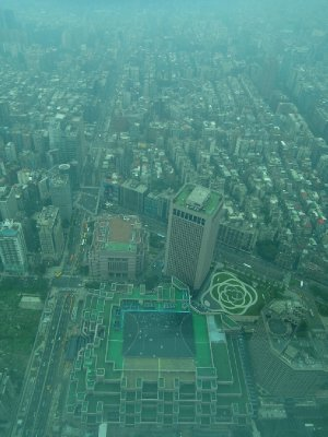 View from Taipei 101!