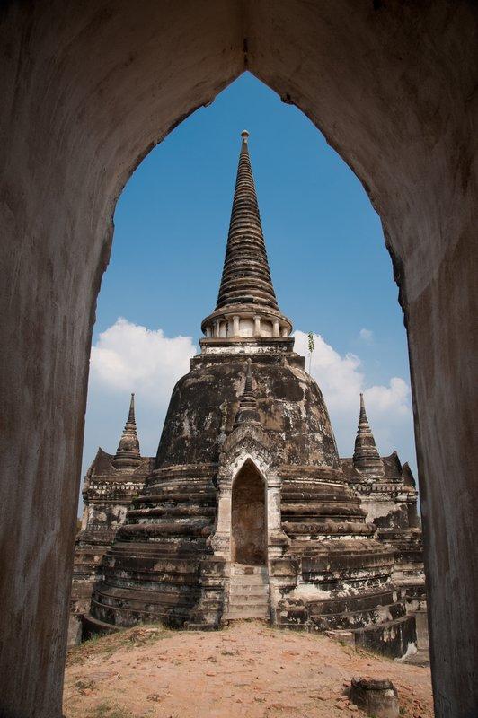 Temple, Ayutthaya, Thailand