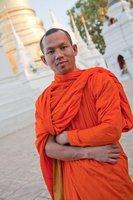 Monk, Chiang Mai, Thailand