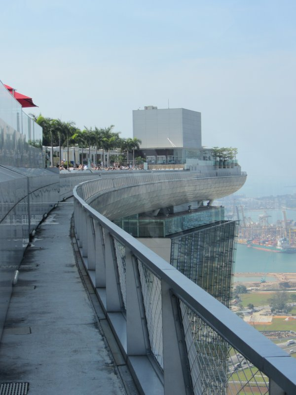 Ship on the Marina Bay Sands