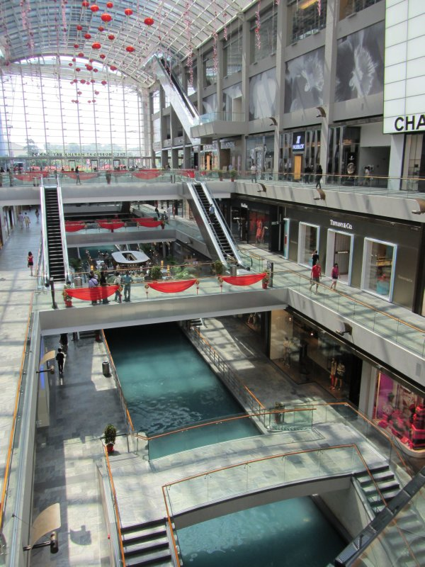 Shopping Centre River