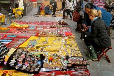 shopping and negotiating