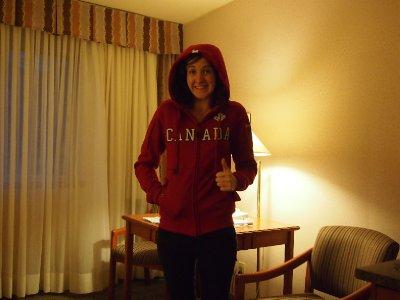 Canada jumper! Such a tourist....