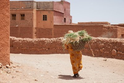 Berber village woman