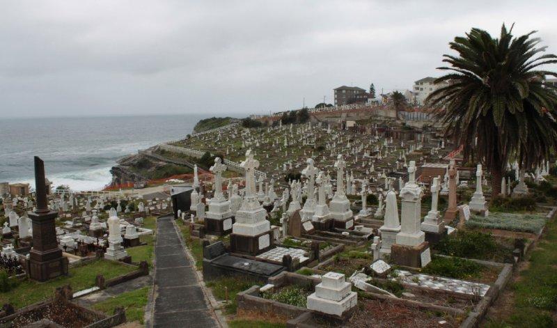 ook de doden krijgen in Australië een room with a view