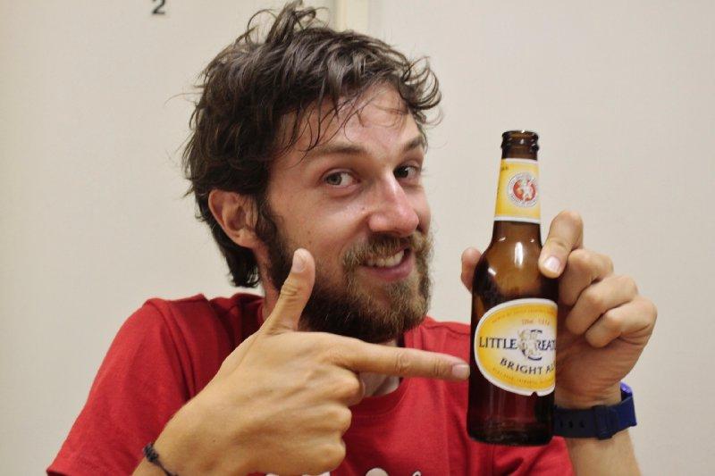 Sacha's favoriete Australische bier: Little Creatures ale!