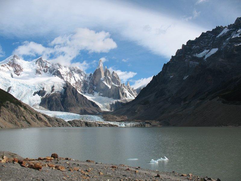 Laguna  Cerro Torre Peak