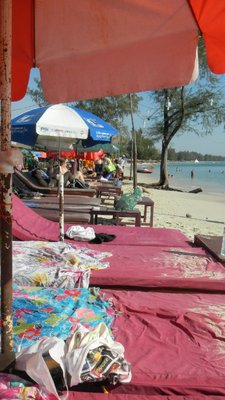 Sihnoukville beach