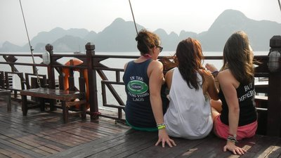 Halong Bay with the girls