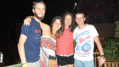 me Dan, Ness and Owen
