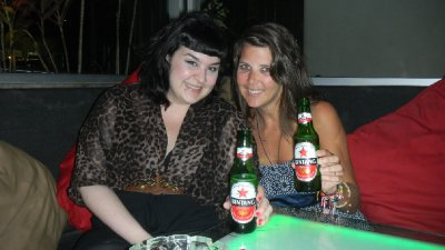 catching up over a Bintang