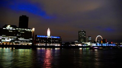 London: The South Bank from Victoria Embankment