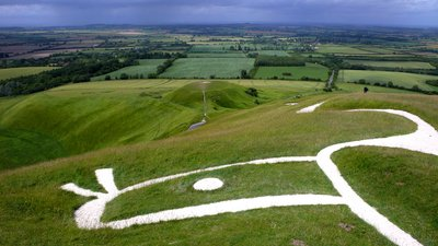 White Horse Chalk Cut, Uffington