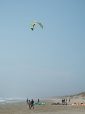 90 Mile Beach - wind surfing