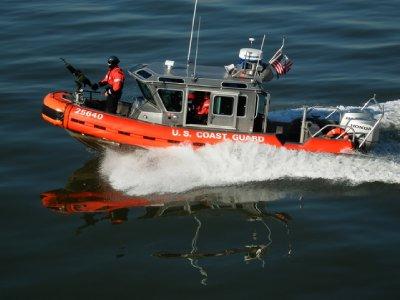Coast Guard escort to Staten Island