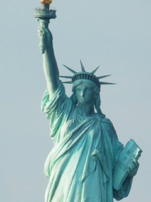 Statue of Liberty - from Ferry