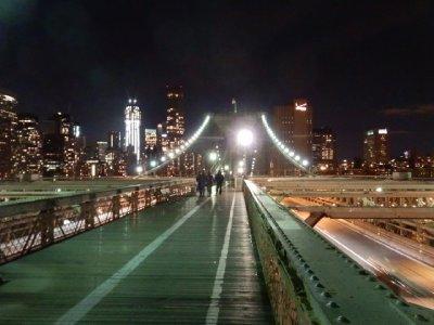 Brooklyn Bridge from walkway