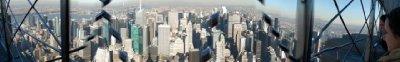 Manhattan - From Empire State Observation deck