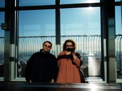 On Observation Deck - Empire State Bldg