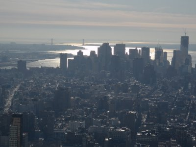 New York - from Empire State Building