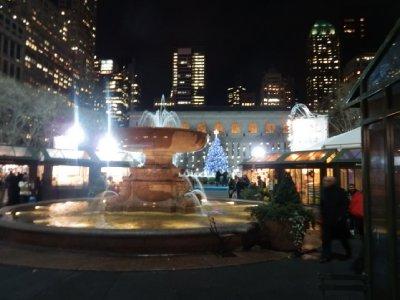 Park behind NY Library