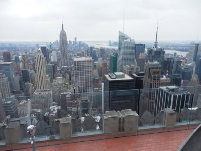 Rockefeller Centre - View from Observation Deck