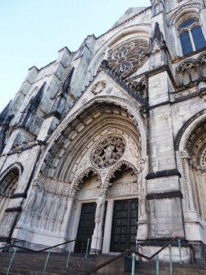 St John the Divine - exterior