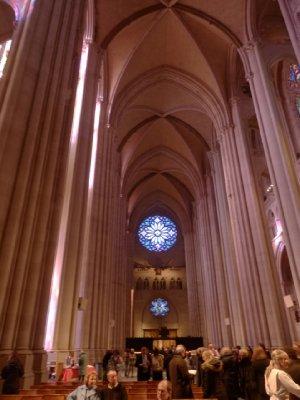 St John the Divine - interior