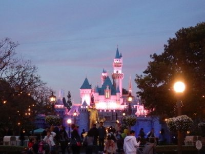 Disneyland - castle